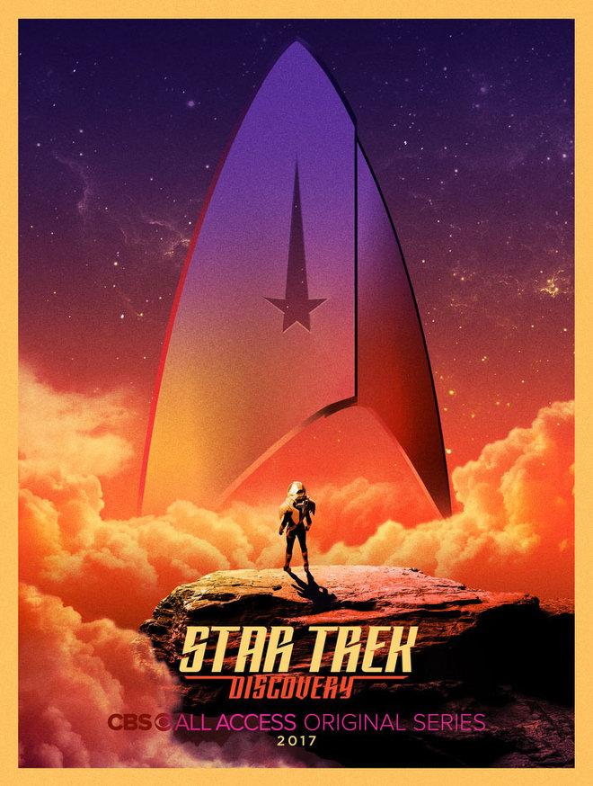 Star Trek Serie Bryan Fuller Comic-Con Poster 1