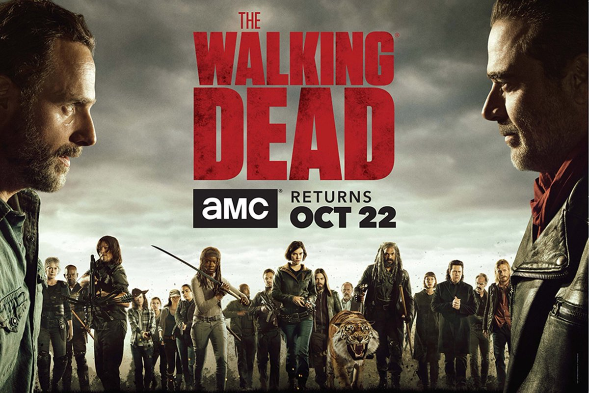 The Walking Dead Staffel 8 Start Poster