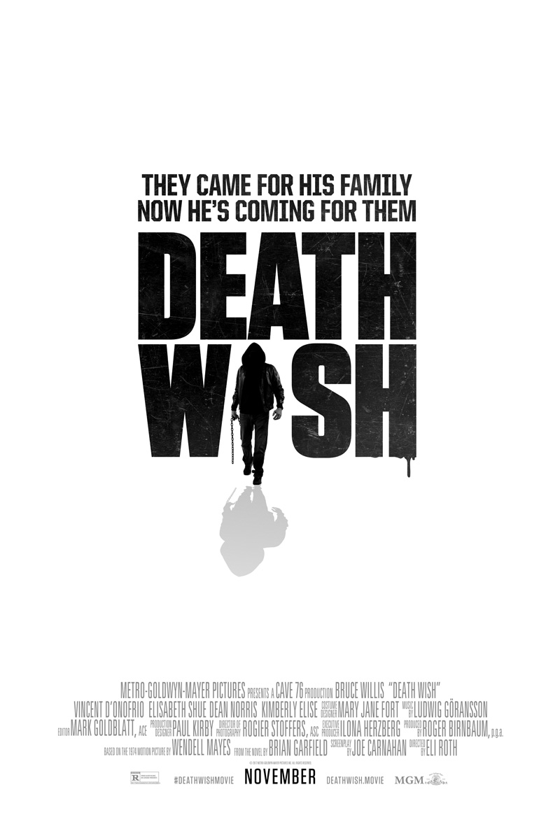 Death Wish Trailer & Poster