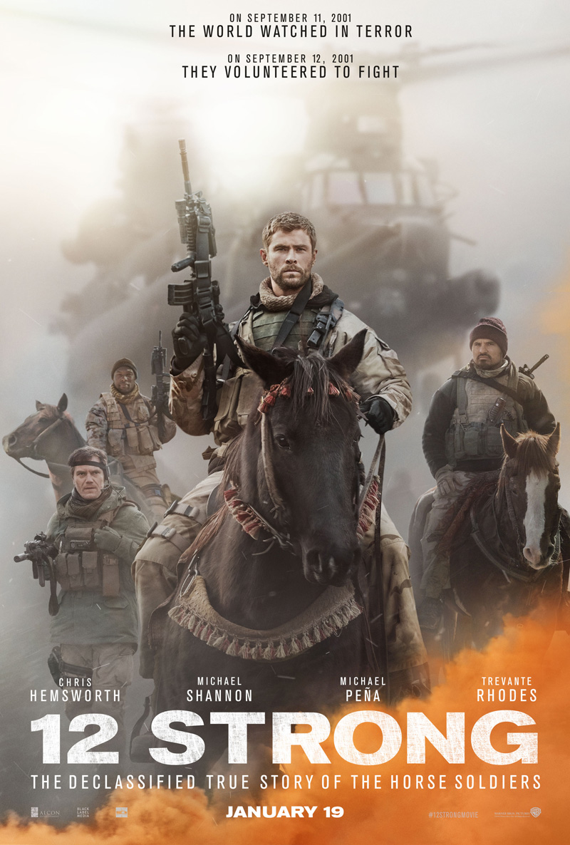 12 Strong Trailer & Poster