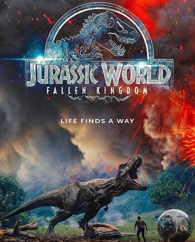 Jurassic World Das gefallene Königreich Trailer & Fanmade Poster