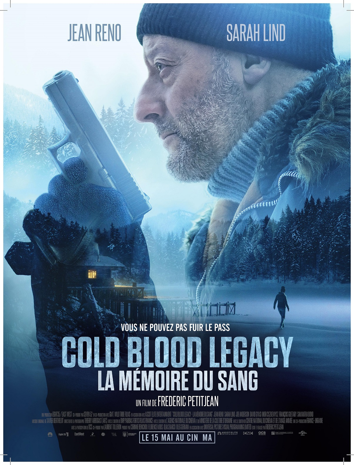Cold Blood Legacy Jean Reno Poster