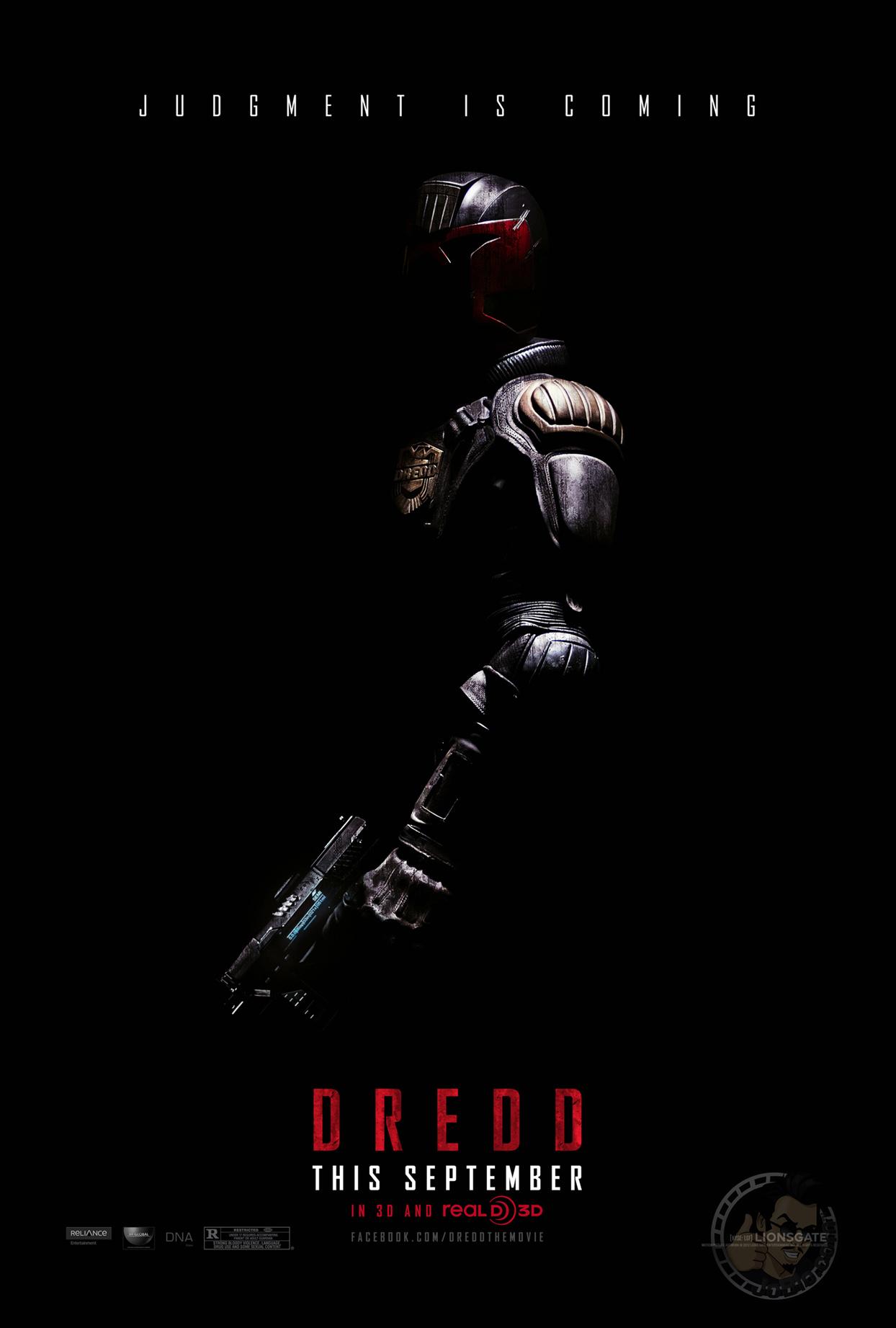 Update: Neuauflage von Judge Dredd - erstes Poster und neue Bilder ...