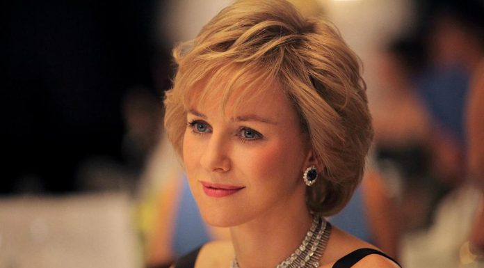 Naomi Watts als Princess Diana