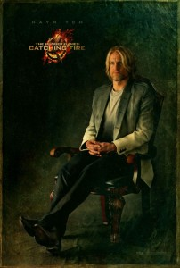 Catching Fire Charakterposter - Haymitch