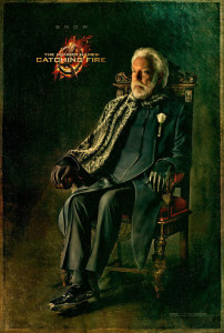 Catching Fire Charakterposter - Snow