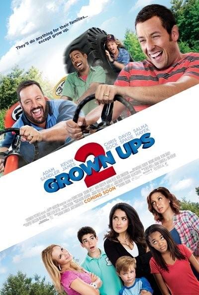 Neues Poster für Grown Ups 2