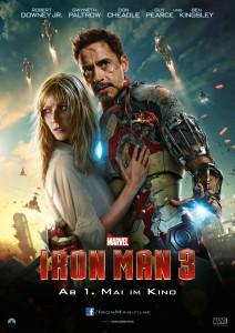 Iron Man 3 deutsches Hauptplakat