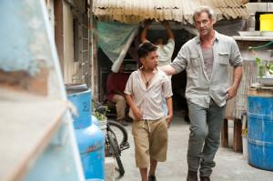 Mel Gibson in Get the Gringo (2012) mit Jungen