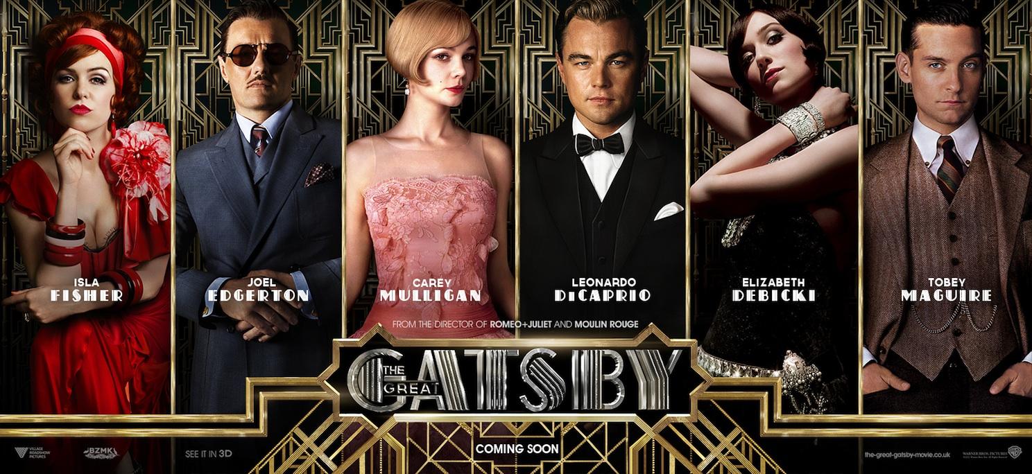 Der große Gatsby Charakterposter