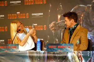 Iron Man 3 Pressekonferenz 2