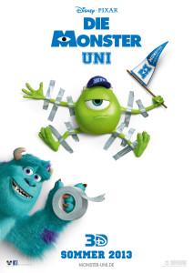 Die Monster Uni Poster 1