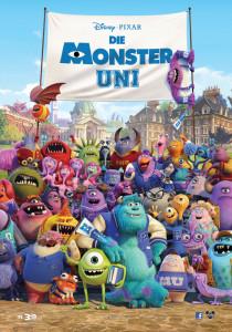 Die Monster Uni Poster 2