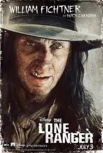 The Lone Ranger Charakterposter 1