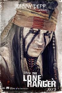 The Lone Ranger Charakterposter 2
