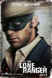 The Lone Ranger Charakterposter 5