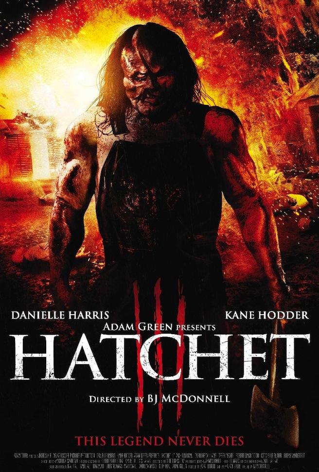 Hatchet 3 Poster