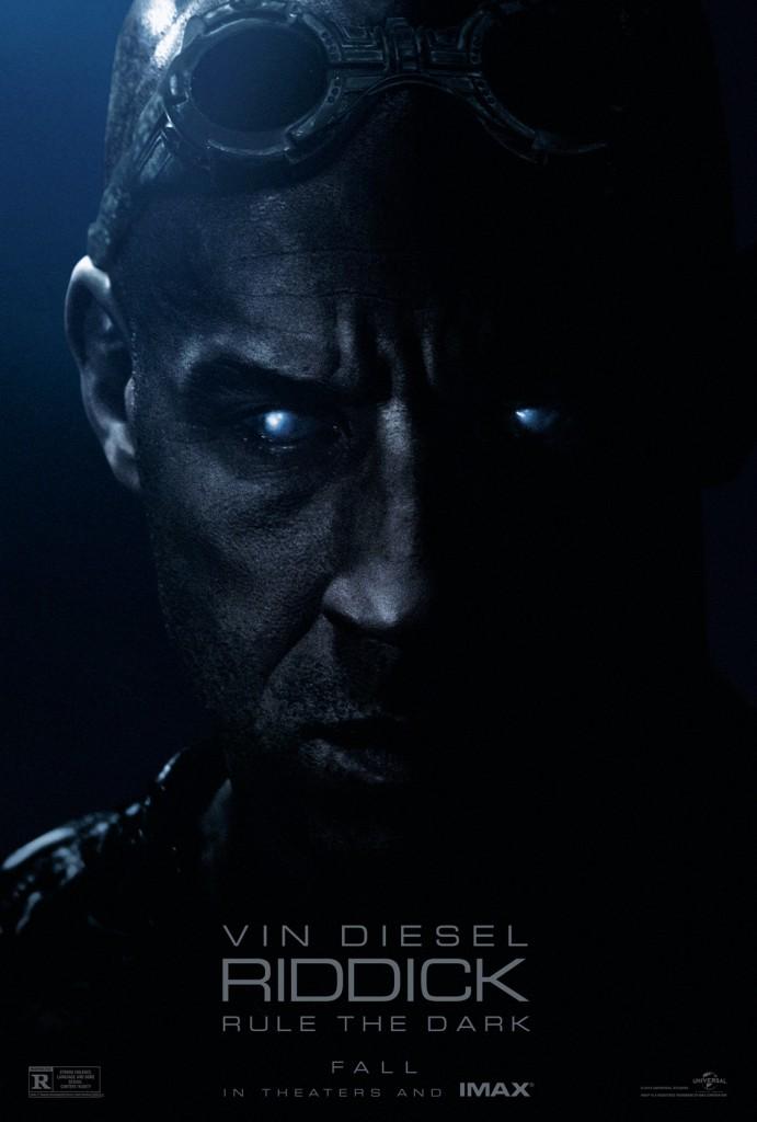 Riddick Trailer & Poster
