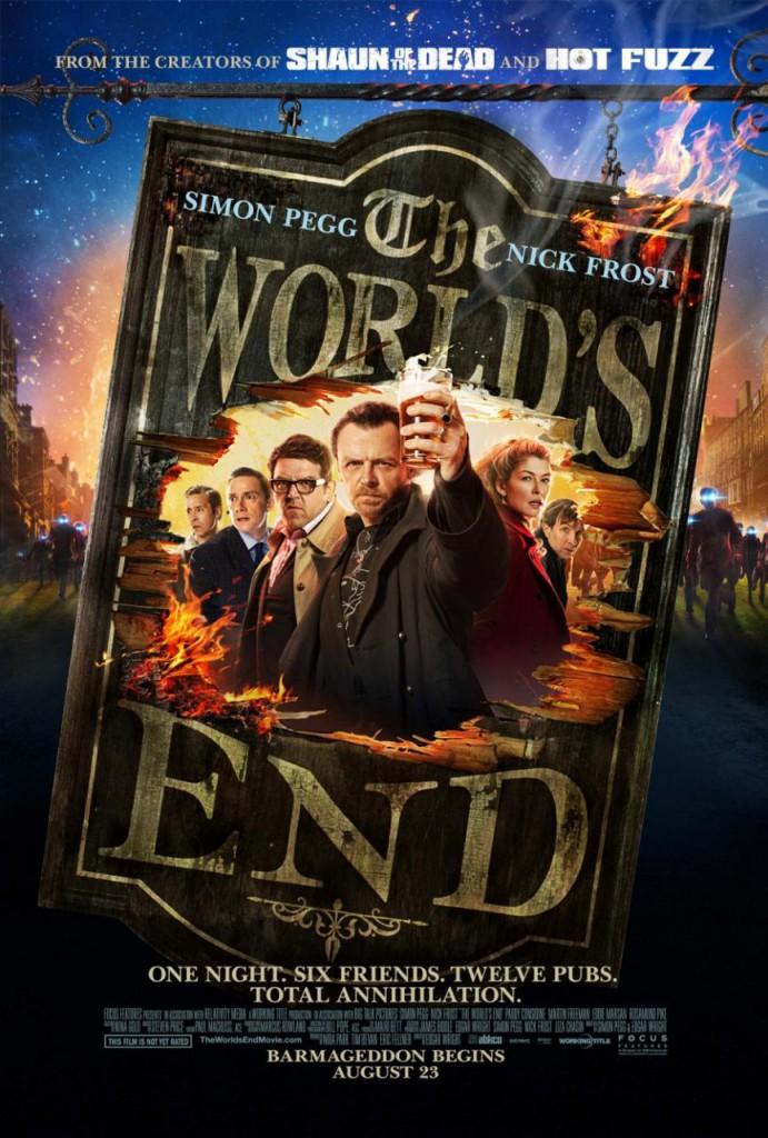 The World's End Trailer und Poster 2