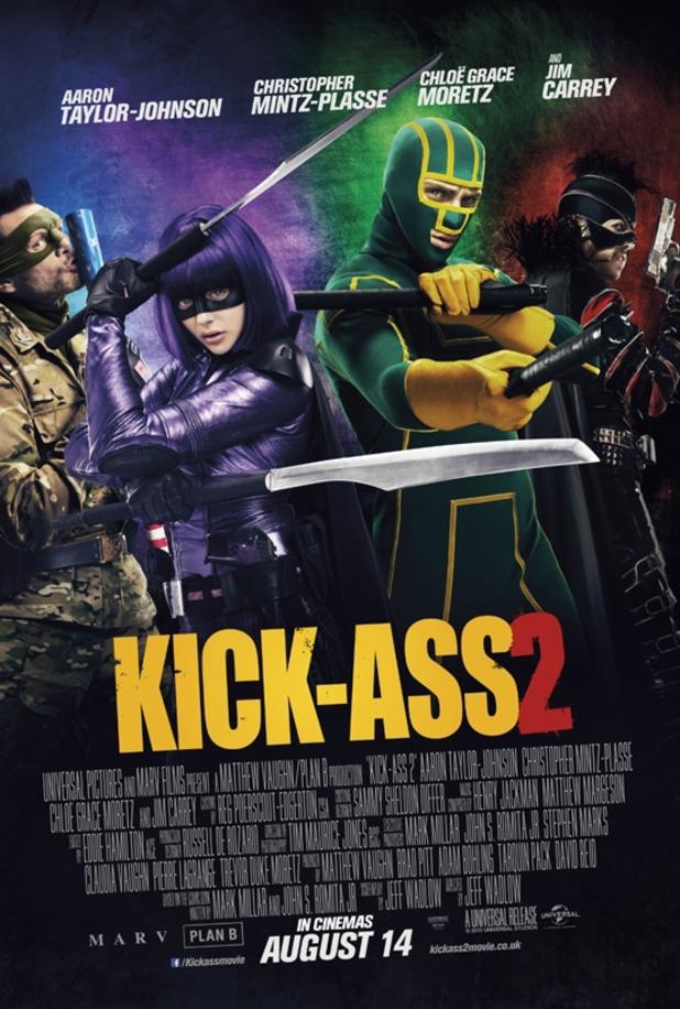 Kick Ass 2 Plakat