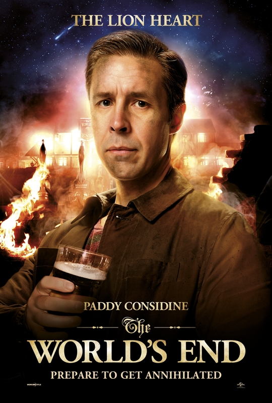 The World's End Charakterposter Considine