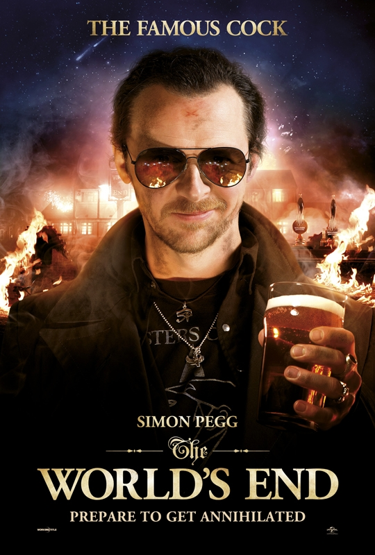 The World's End Charakterposter Pegg