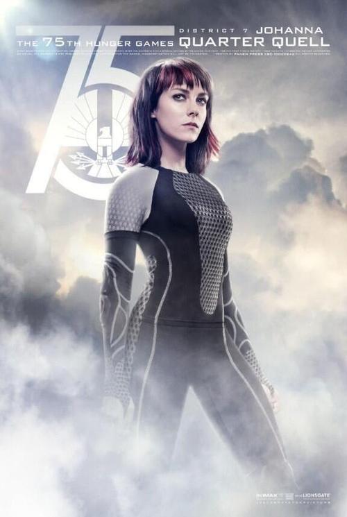 Tribute von Panem - Catching Fire Charakterposter Johanna