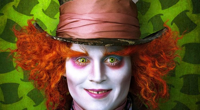 Johnny Depp Alice in Wonderland 2