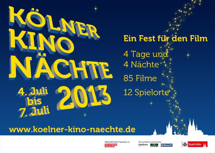 Kölner Kino Nächte 2013