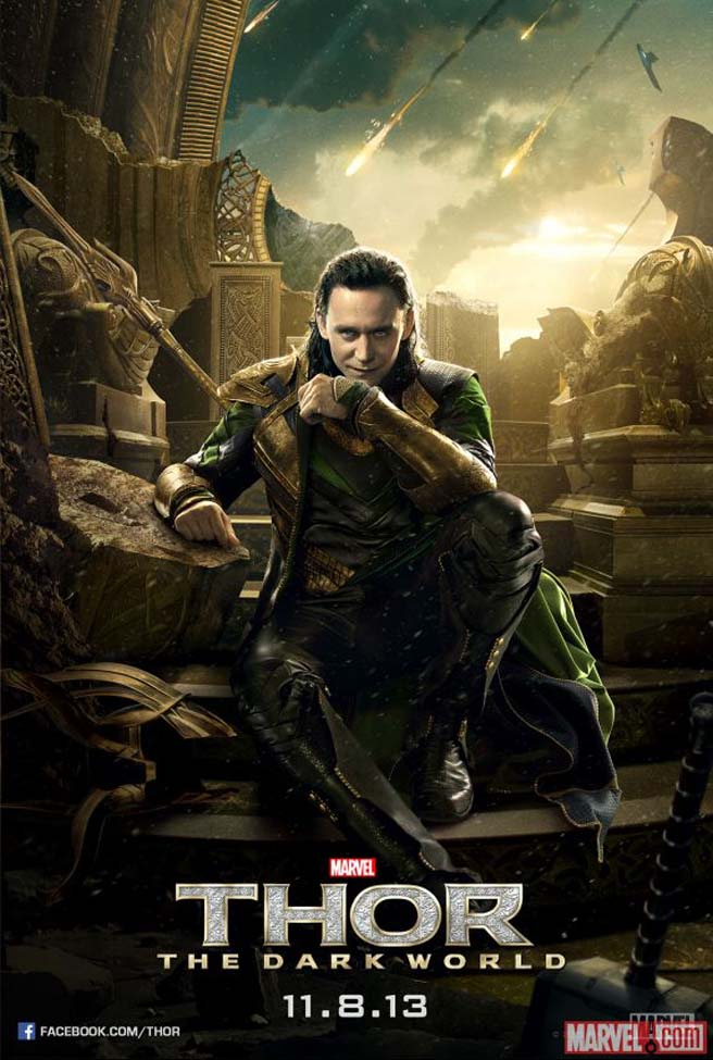 Thor Charakterposter - Loki