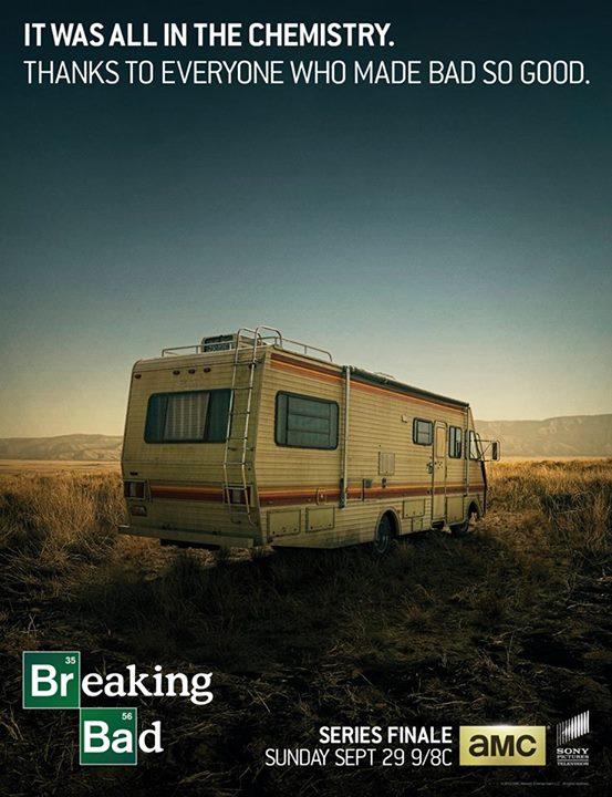 Breaking Bad Finale Poster