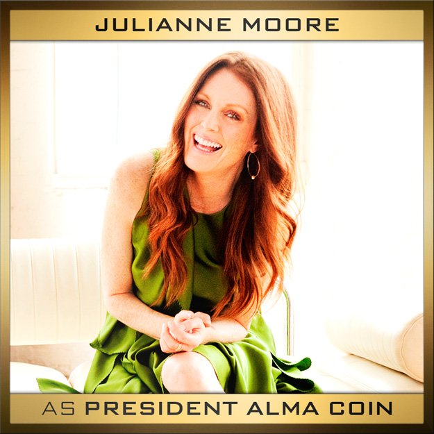 Julianne Moore Mockingjay Alma Coin