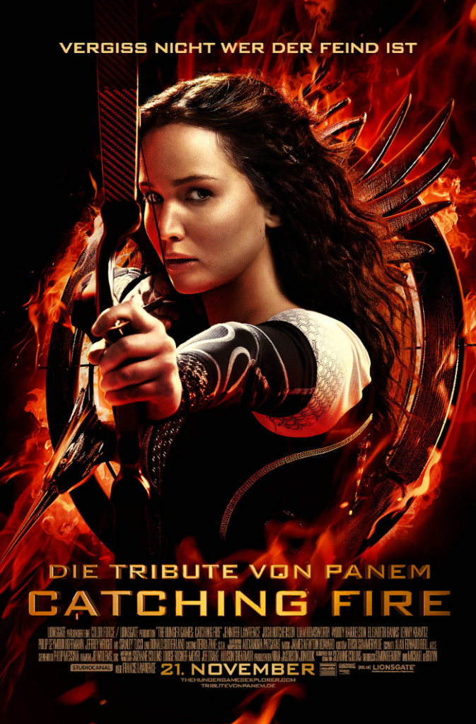Catching Fire Filmposter