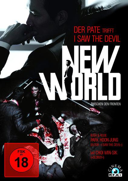 New World - Zwischen den Fronten (2013) DVD-Cover