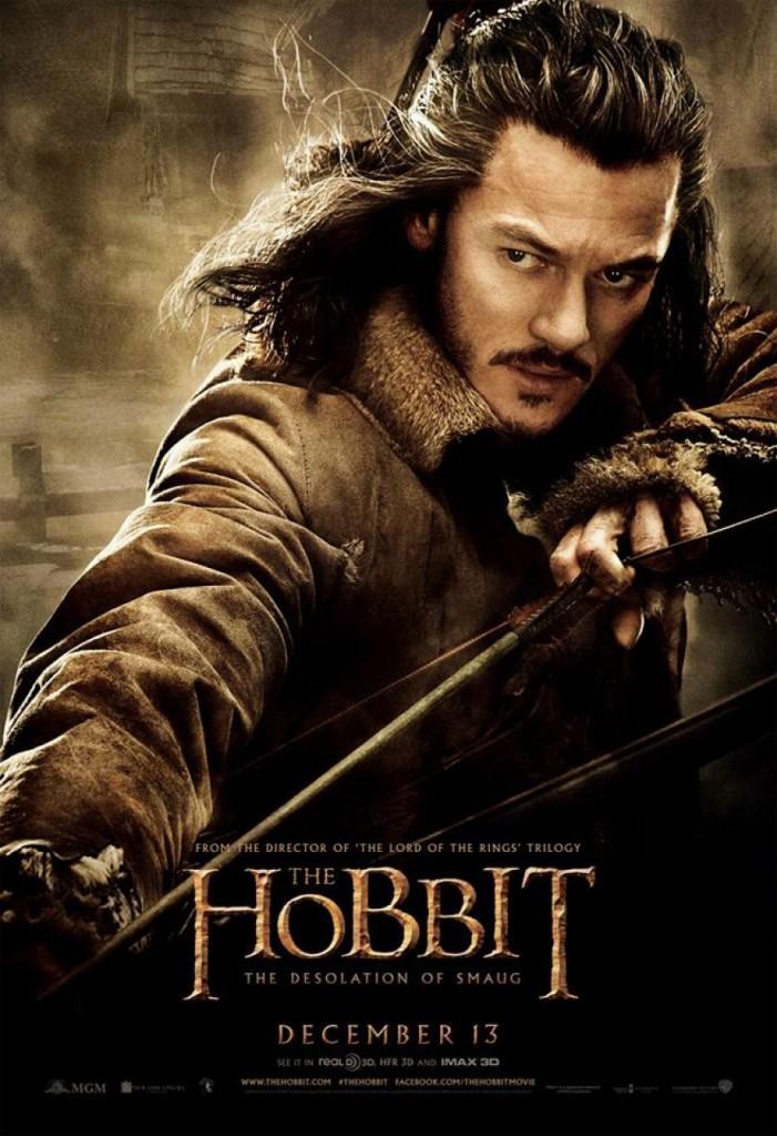 Der Hobbit 2 Charakterposter - Bard