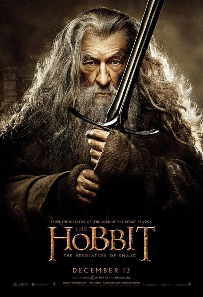 Der Hobbit 2 Charakterposter - Gandalf