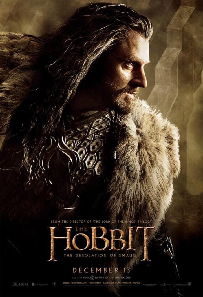 Der Hobbit 2 Charakterposter - Thorin