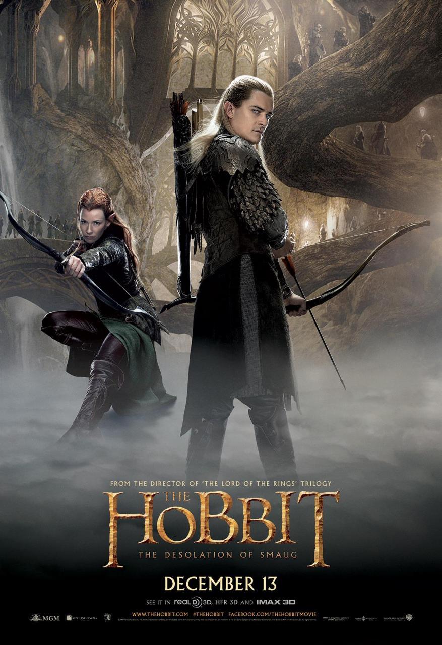 Der Hobbit Smaugs Einöde Fünf Neue Charakterposter