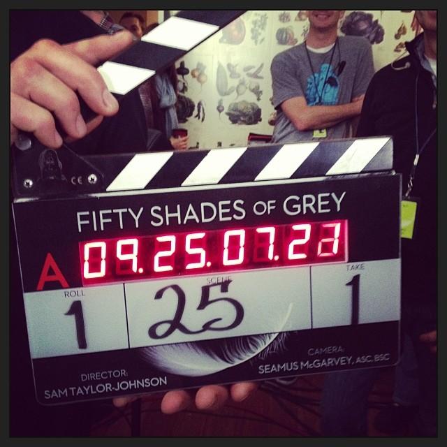 Fifty Shades of Grey Drehbeginn