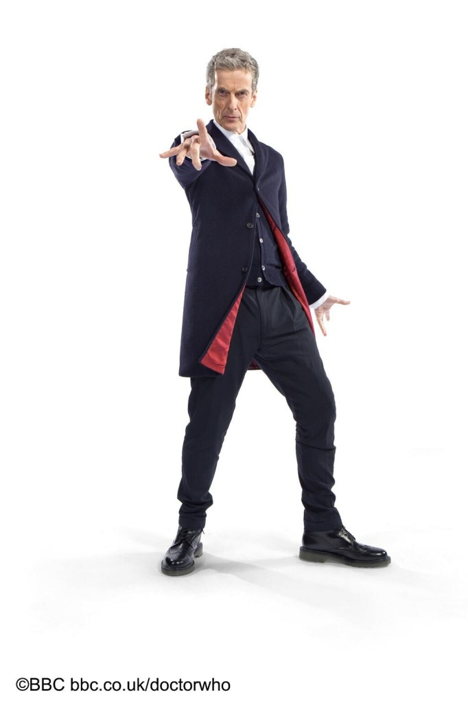 12. Doctor Who Peter Capaldi