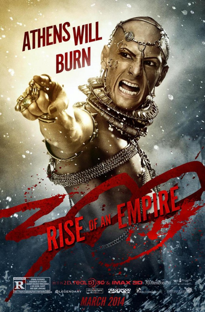 300: Rise of an Empire Charakterposter 2