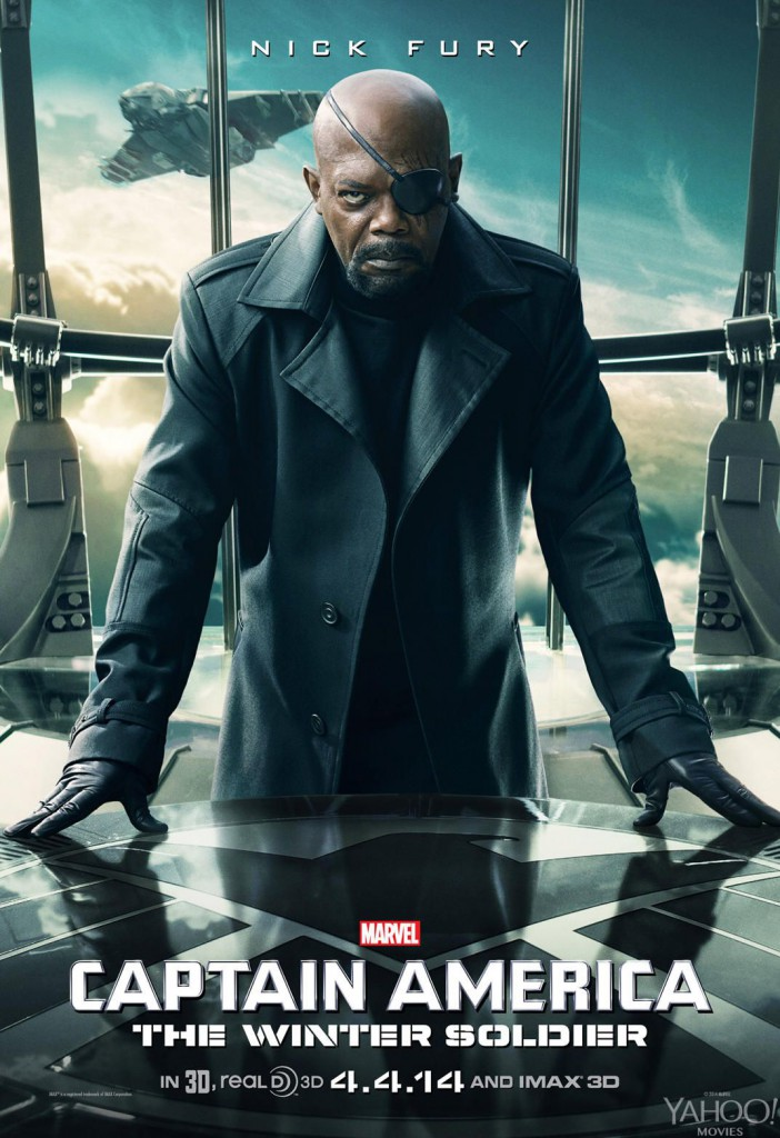Captain America 2 Poster - Nick Fury