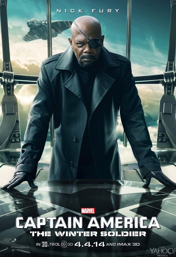 Captain America 2 Poster - Nick Fury