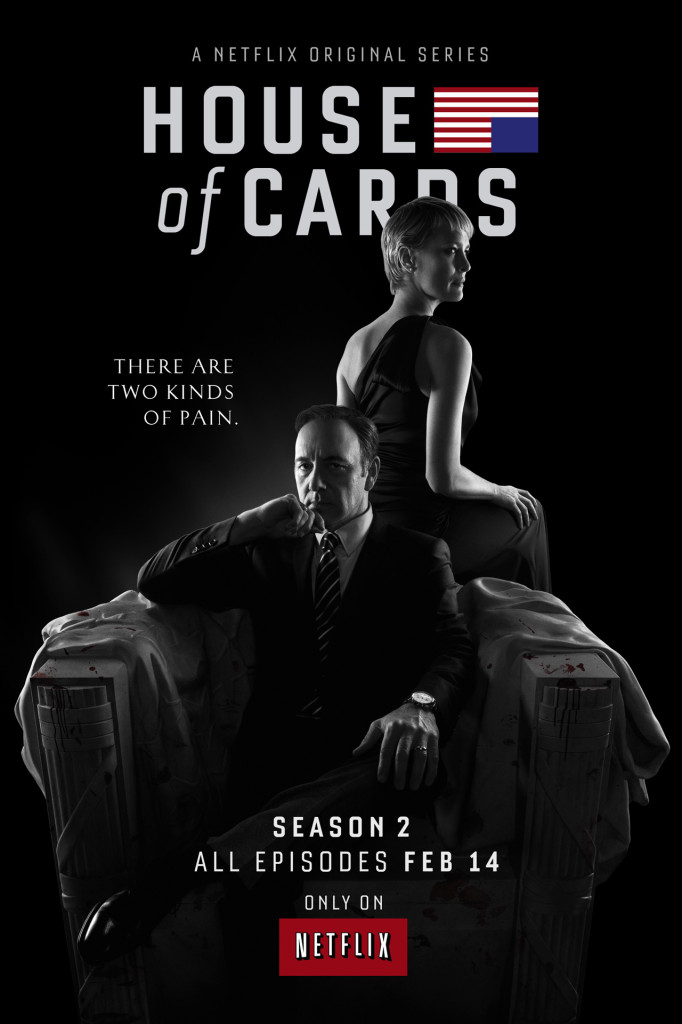 House of Cards Season 2 Trailer Poster