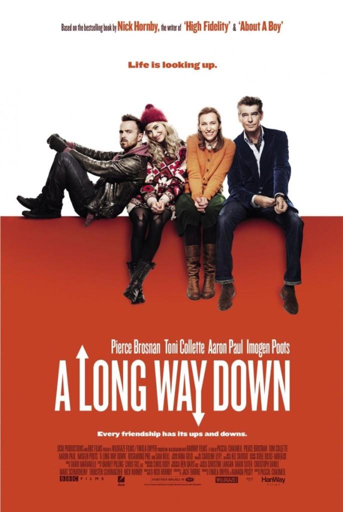 A Long Way Down Trailer und Poster