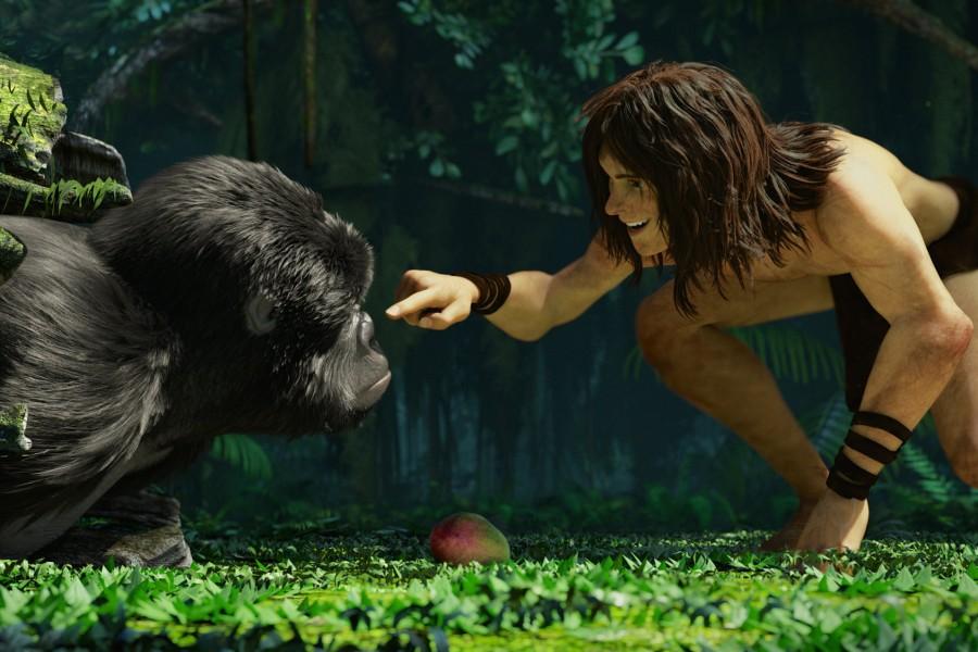Alexander Fehling Interview Tarzan 3D 1