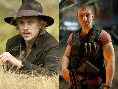 Boyd Holbrook und Jai Courtney als Kyle Reese Kandidaten in Terminator: Genesis