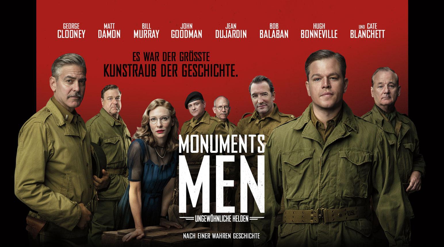 Monuments Men (2014) Filmkritik