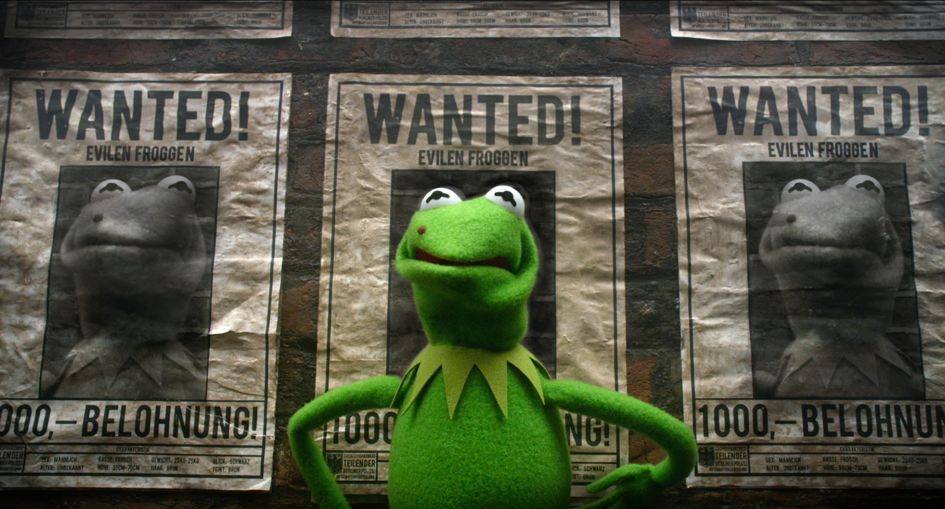 Muppets Most Wanted Super Bowl Spot
