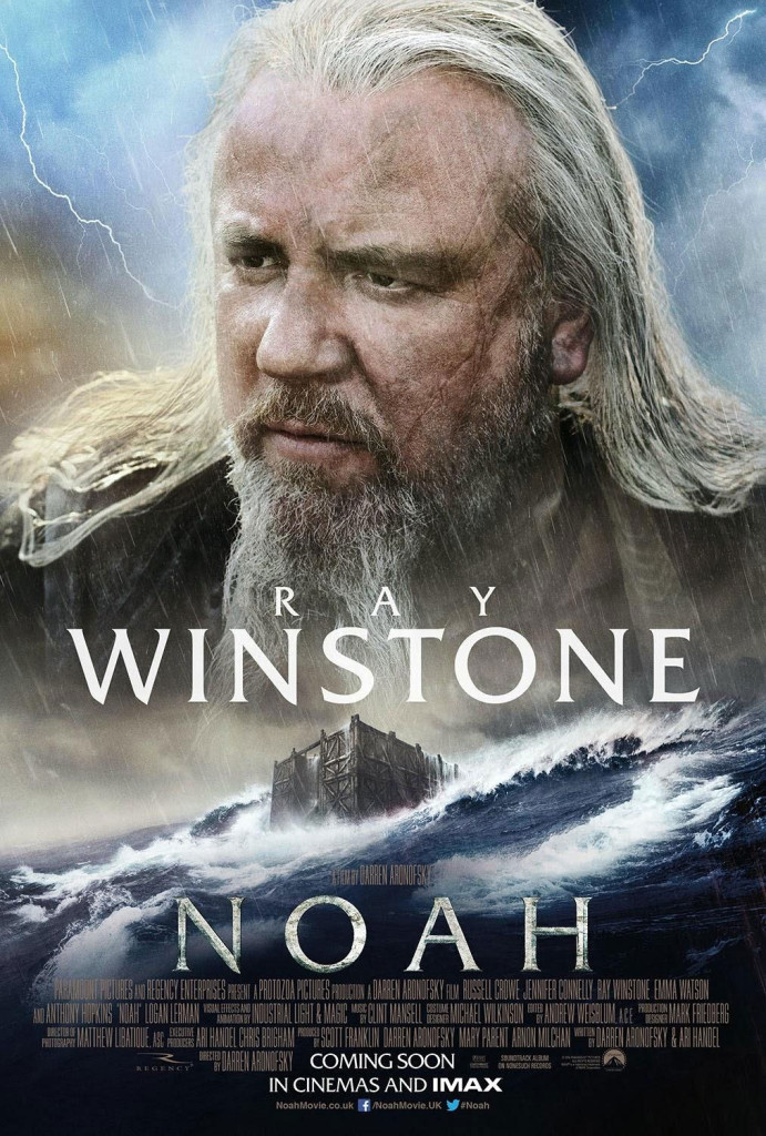 Noah Charakterposter - Ray Winstone
